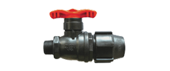 Single Ext. Screw Valve